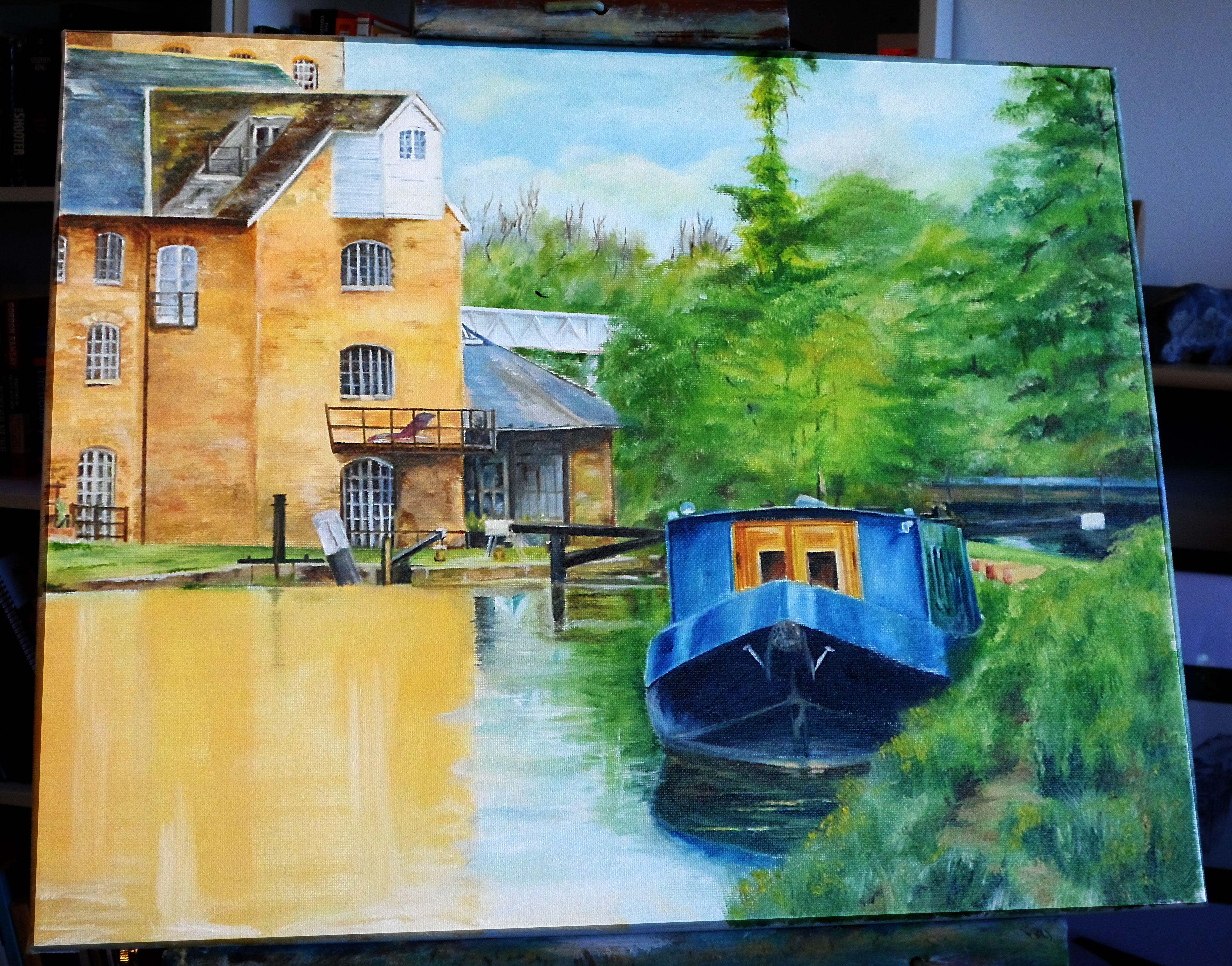 River Boat Finished